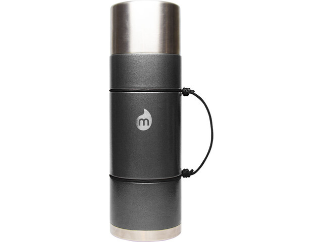 MIZU V10 Botella con aislamiento con LE Drip 1000ml, gray hammer paint